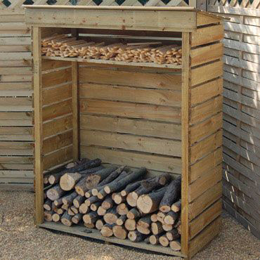 Log Stores Amp Sheds Field House Logs