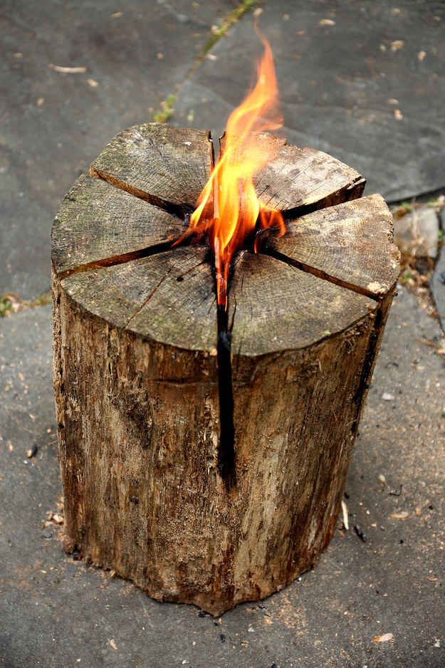 Swedish Torches Field House Logs