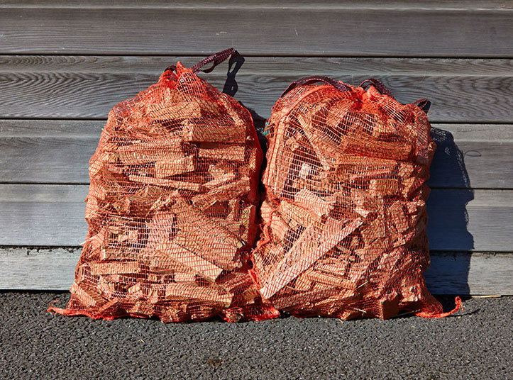 Bags of Kindling for Sale